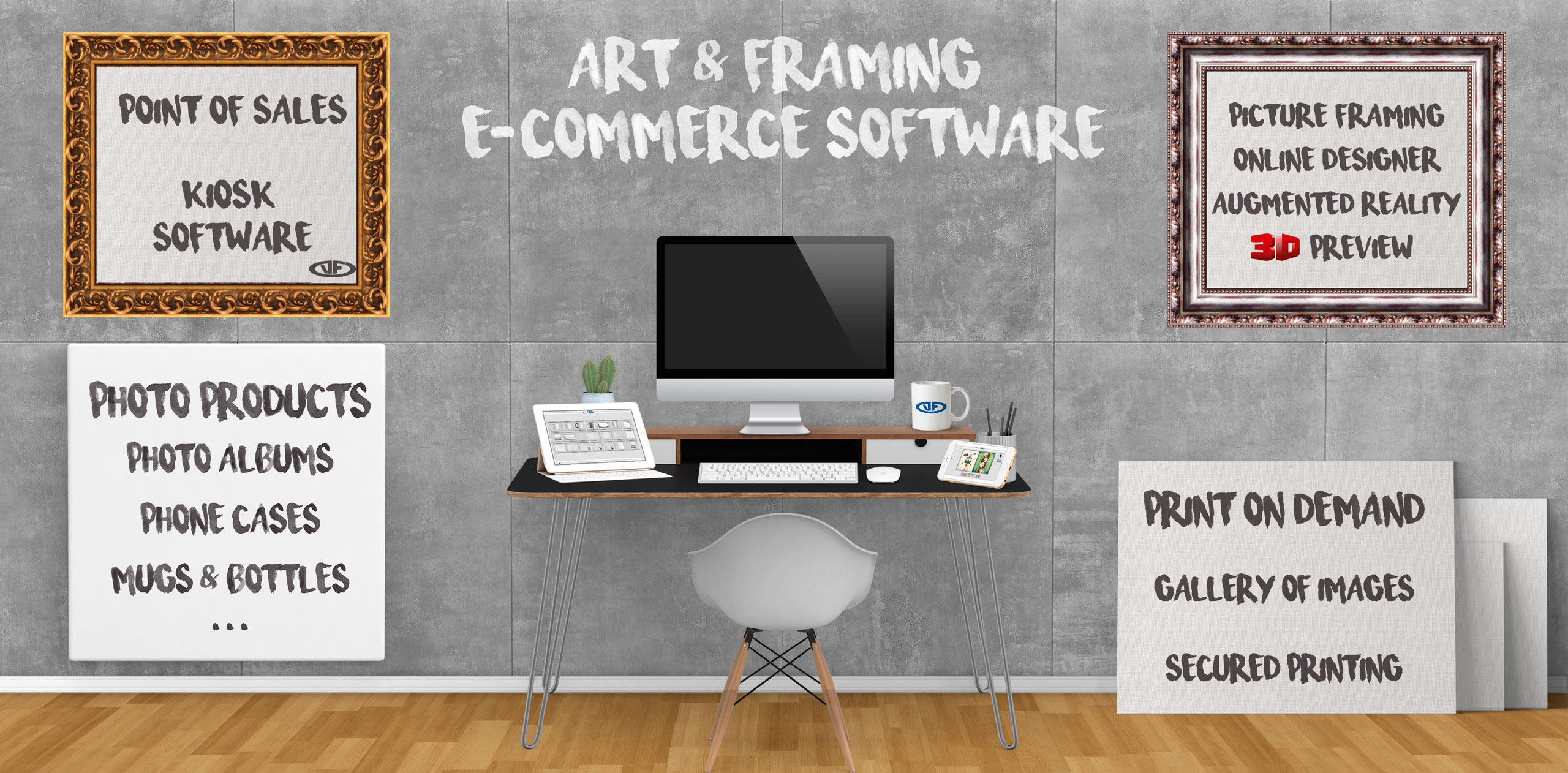 Online Picture Framing Software